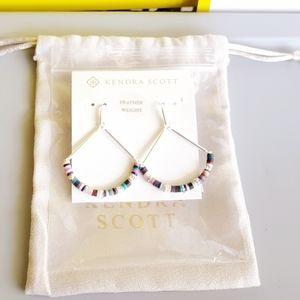 🌈 New Kendra Scott REECE in Neutral Mix Earrings